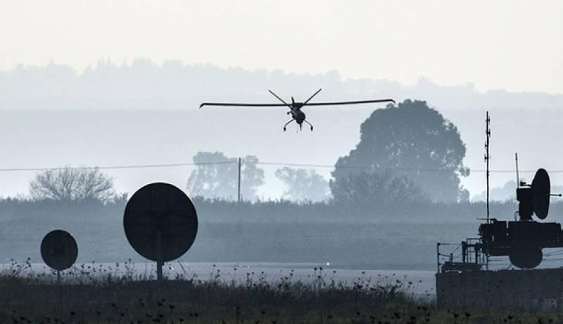 حزب اللہ نے تباہ شدہ اسرائیلی ڈرون کا ملبہ اٹھا لیا