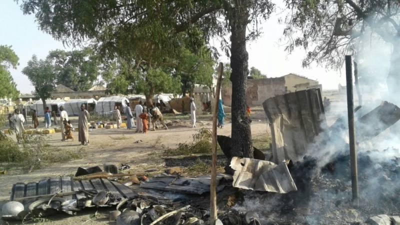 افریقی ملک نائیجریا کی فوج کا فضائی حملہ،غلطی سے اپنے ہی درجنوں شہری ہلاک کر دئیے