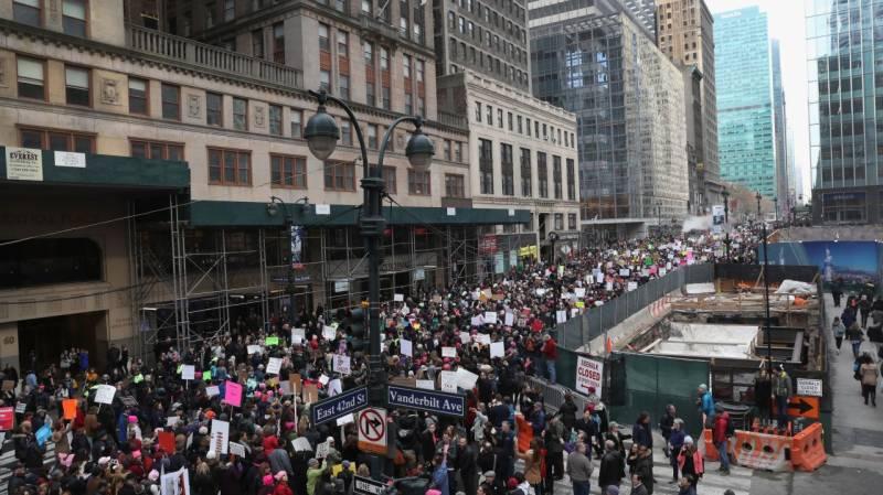 امریکا سمیت دنیا بھر میں ٹرمپ مخالف مظاہرے