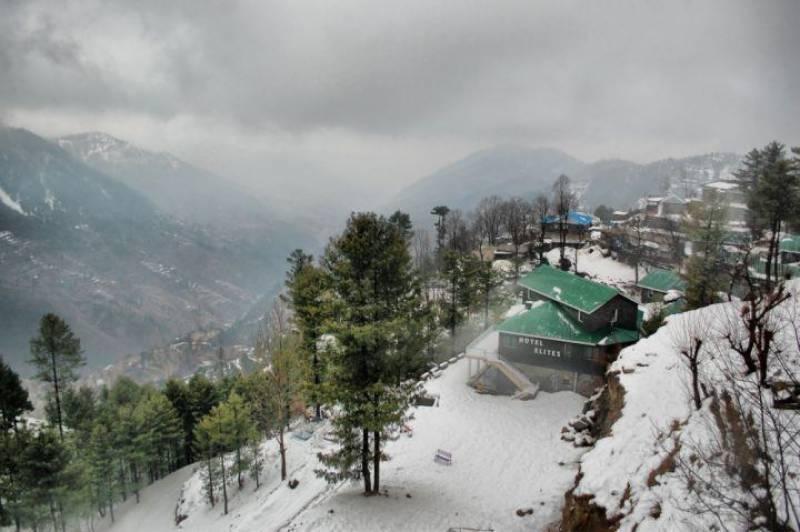 ملک کے بالائی علاقوں میں برفباری اور بارشوں کے بعد سردی برقرار