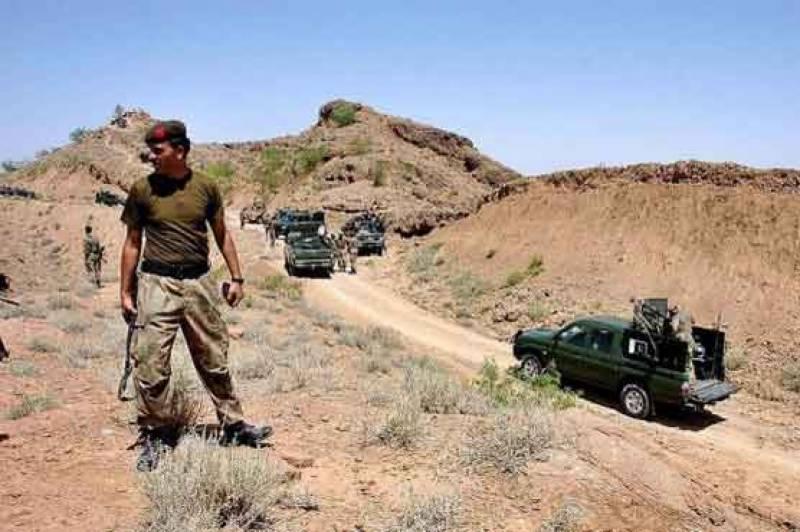 سکیورٹی فورسز اور دہشتگردوں کے درمیان جھڑپ، ایک دہشتگرد ہلاک، 3 جوان زخمی