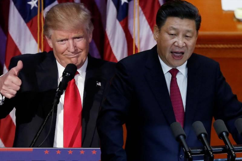 امریکی صدر ڈونلڈ ٹرمپ اور چینی ہم منصب کے درمیان فون پر اہم رابطہ