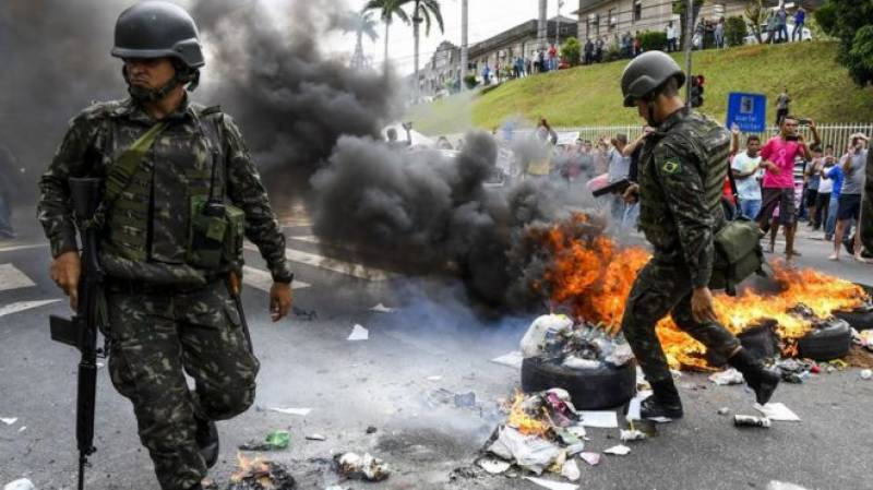 برازیل:ہڑتال کے دوران 100سے زائد افراد ہلاک
