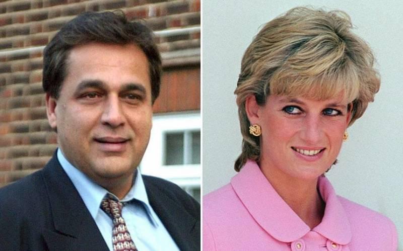 ڈاکٹر حسنات نے برسوں بعد لیڈی ڈیانا کے ساتھ تعلقات بارے چپ کا روزہ توڑدیا