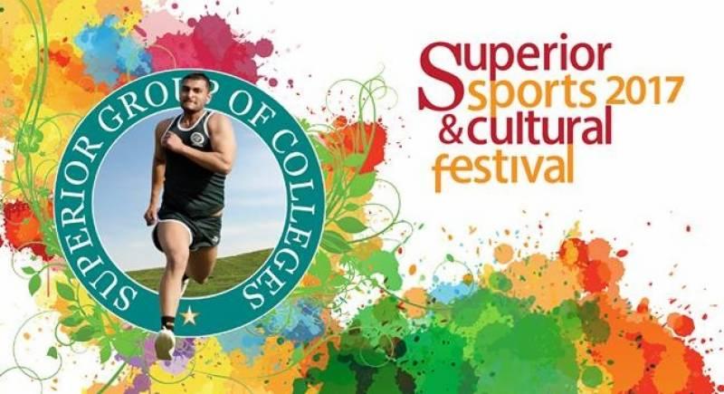 سپیریئر یونیورسٹی کا رنگا رنگ سپورٹس فیسٹیول جاری،چاروں صوبوں کی نمائندگی