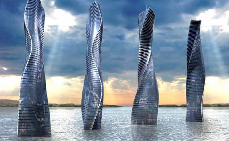 دبئی: 360ڈگری پر گھومنے والی عمارت کی تعمیر کا منصوبہ