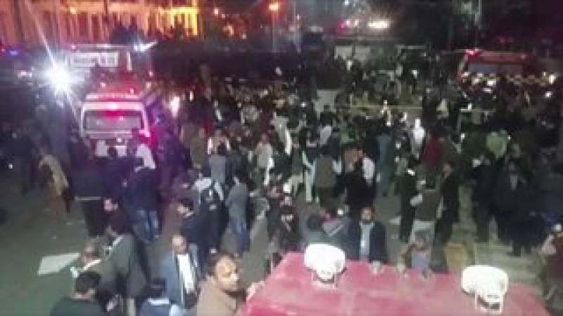 لاہور دھماکے کا ایک اور زخمی دم توڑ گیا، شہداء کی تعداد چودہ ہو گئی