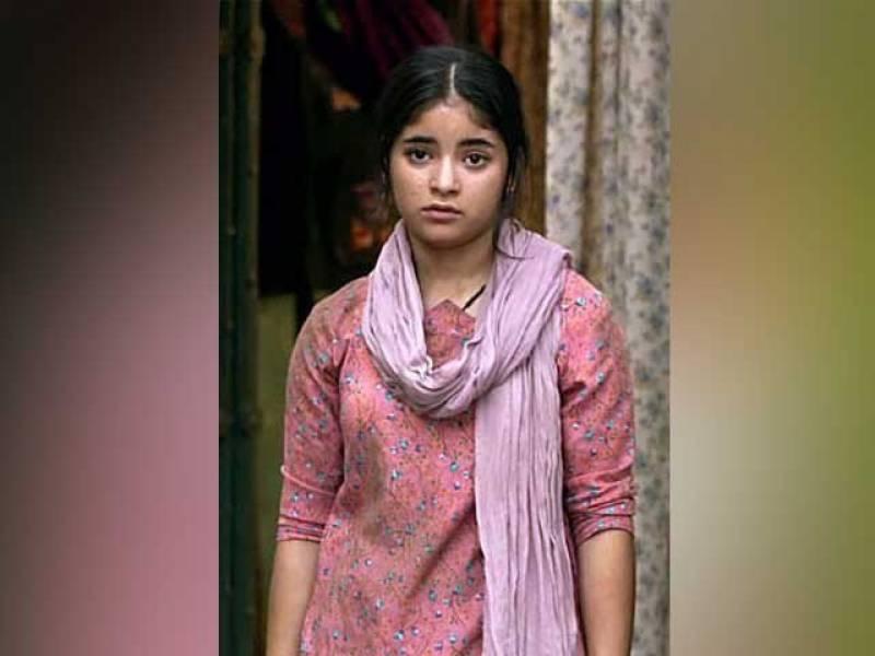 ننھی اداکارہ زائرہ وسیم کی پاکستان سے والہانہ محبت کی پوسٹ نے انتہا پسند ہندوؤں کو آگ بگولہ کردیا