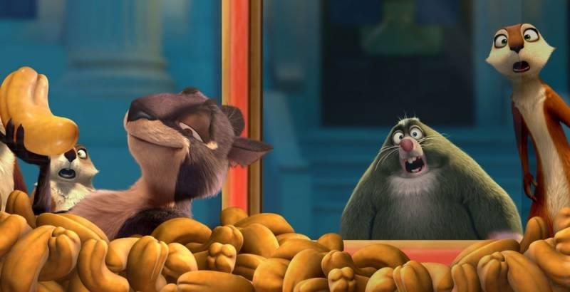 نئی اینیمیٹد کامیڈی فلم دی نٹ جاب2نٹی بائے نیچر کا ٹریلر جاری !