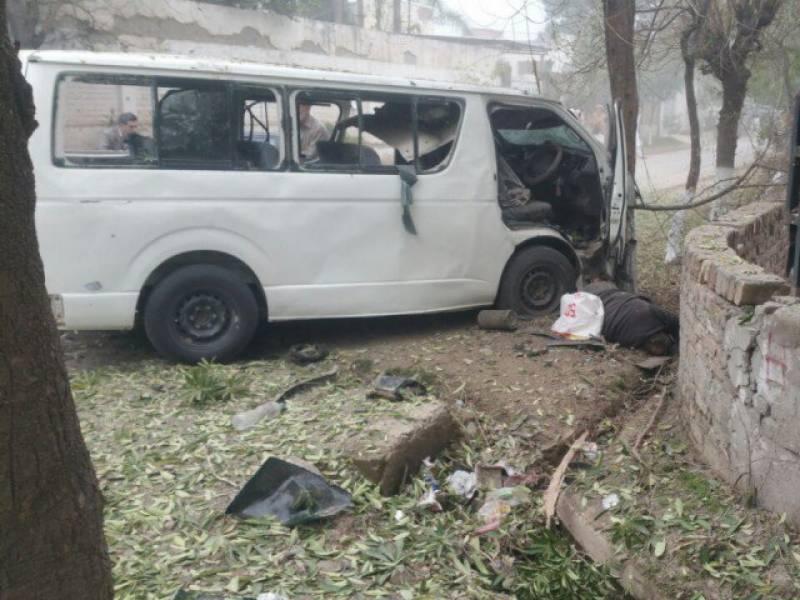 پشاور خودکش حملے کا مقدمہ درج کر لیا گیا
