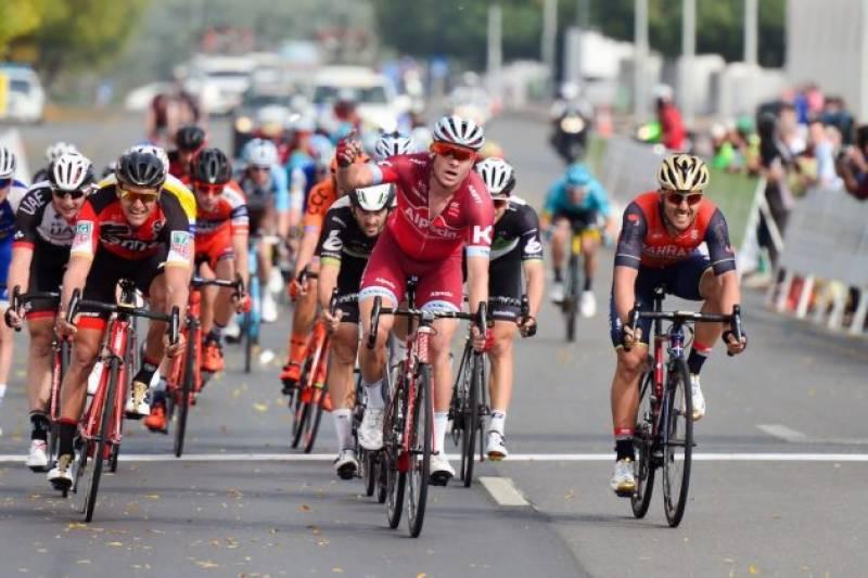 الیگزینڈر کرسٹوف نے اومان سائیکل ریس کا چوتھا مرحلہ جیت لیا