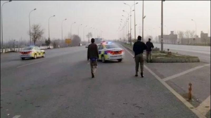 پشاور: موٹروے پر کار بھگانے کے واقعے کا ڈراپ سین، ملزمان گرفتار