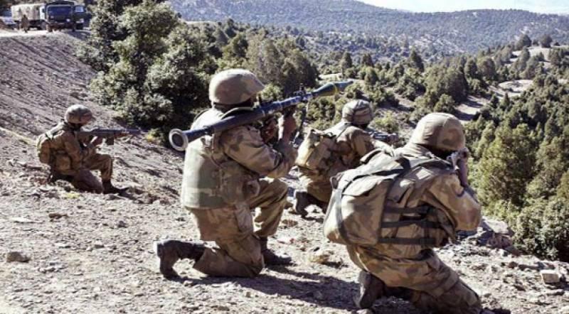 کرم ایجنسی میں سکیورٹی فورسز کی فائرنگ سے گیارہ دہشت گرد مارے گئے