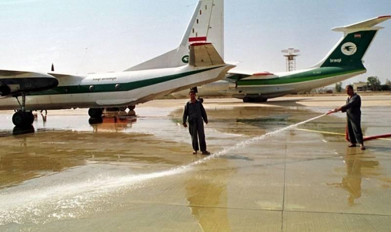 عراقی افواج نے موصل ہوائی اڈے پر دوبارہ قبضہ حاصل کر لیا
