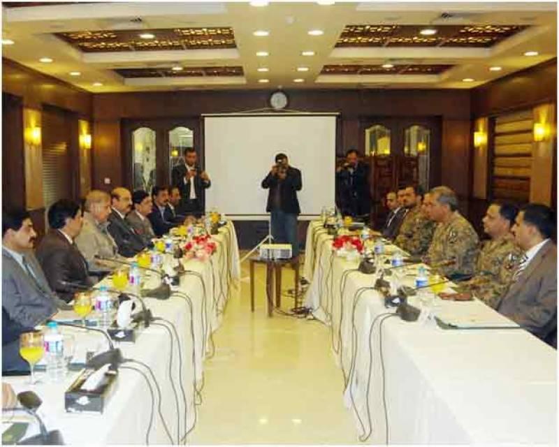 پنجاب میں دہشت گردوں کیخلاف کارروائیاں مزید تیز کرنے کا فیصلہ