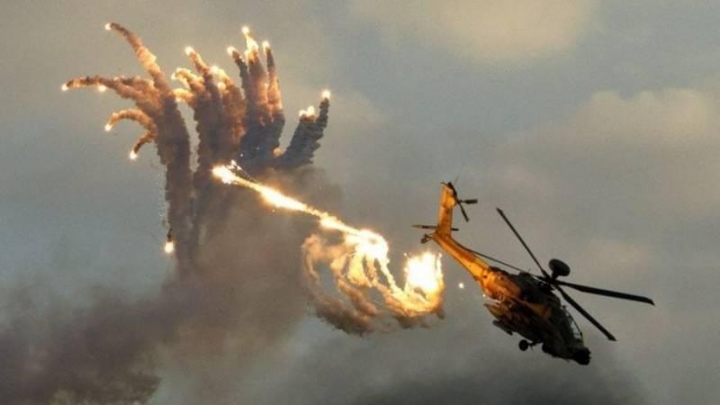 اسرائیلی فضائیہ کی راکٹ حملے کے جواب میں غزہ پر بمباری