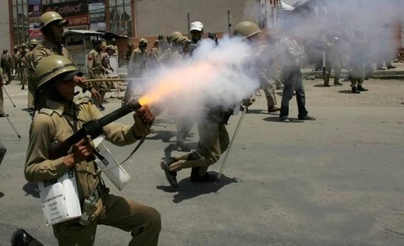 آزادی کا مطالبہ کرنے والے نہتے کشمیریوں کو روکنے لیے بھارت نے000 5 پیلیٹ گنز تیار کر لیں
