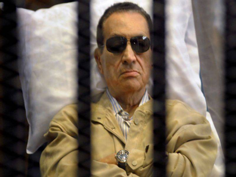 سابق مصری صدر کو بری کر دیا گیا