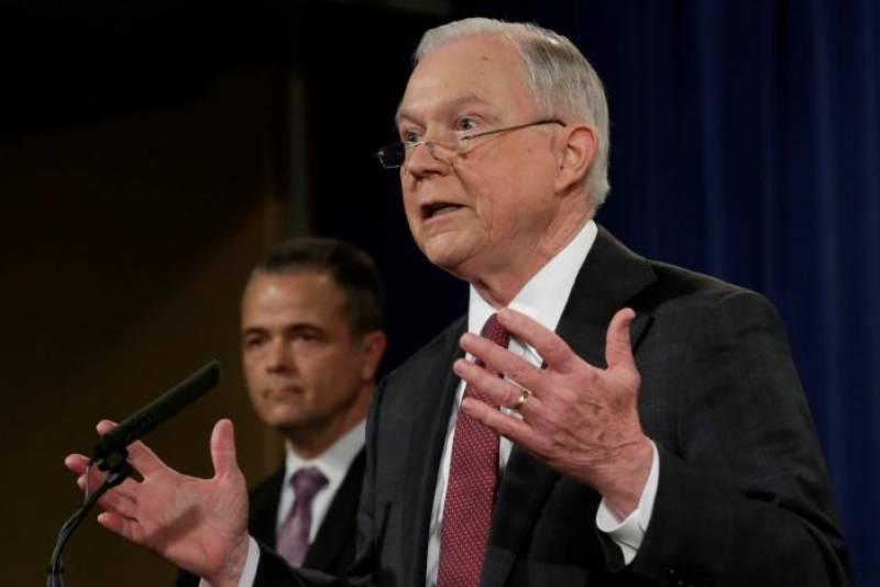امریکہ: اٹارنی جنرل نے ایف بی آئی انکوائری سے خود کو الگ کر لیا
