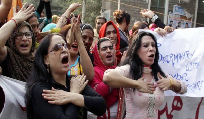 خواجہ سرا فائنل کےٹکٹ نہ ملنے پرنالاں، بچے کی بھی ٹکٹ کے لیے ضد