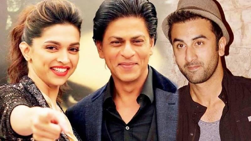 شاہ رخ خان ،رنبیر کپور اور دیپیکا پڈوکون آئندہ فلم میں اکھٹے کام کریں گے