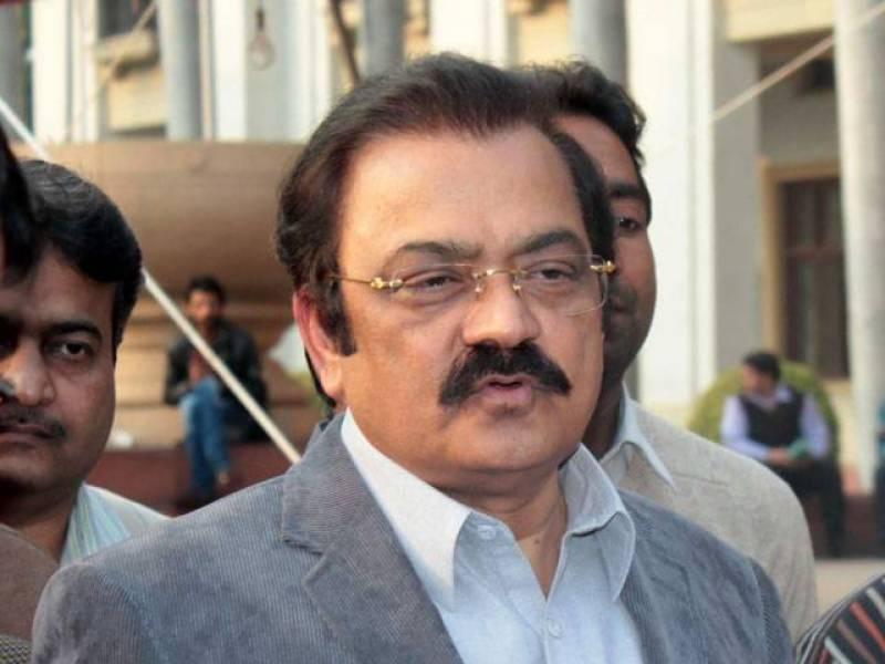 عمران خان اپنا چھوٹا پن اور حسد چھپا نہیں پارہے :وزیر قانون پنجاب رانا ثنا اللہ