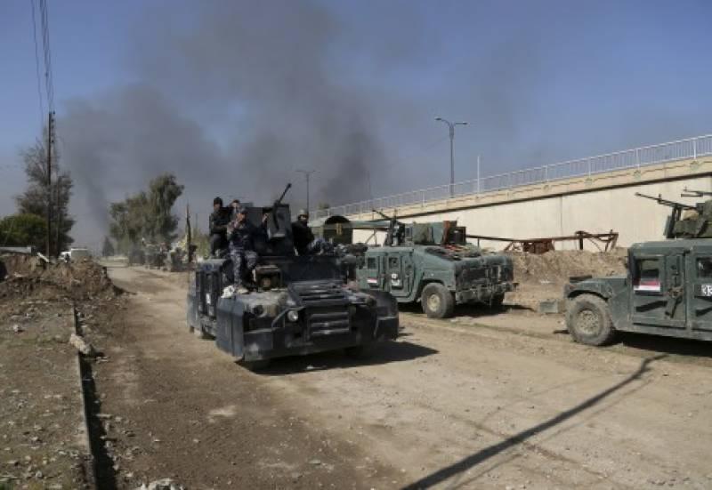 عراقی فوج نے موصل میں حکومتی ہیڈ کوارٹرز پر قبضہ کر لیا
