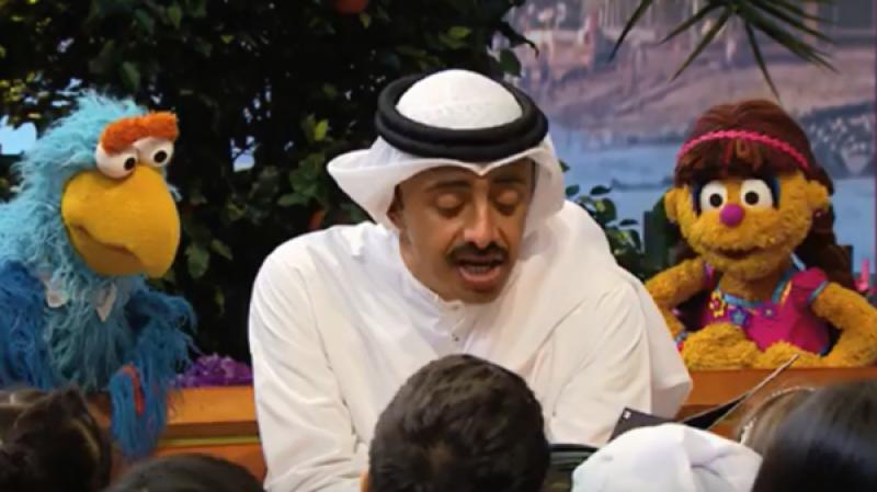 متحدہ عرب امارات کے وزیر خارجہ کی پروگرام 'کھل جا سم سم' میں شرکت