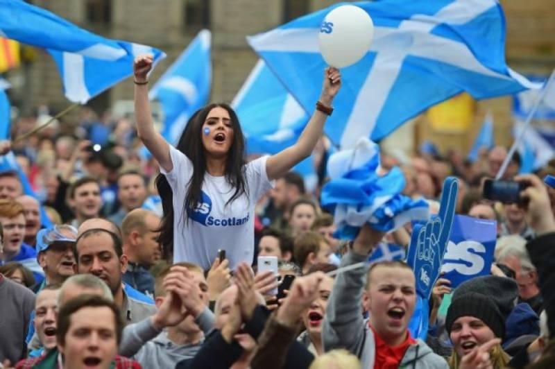 اسکاٹش عوام کا برطانیہ سے علیحدگی کیلئے ایک اور ریفرنڈم کرانے کا منصوبہ