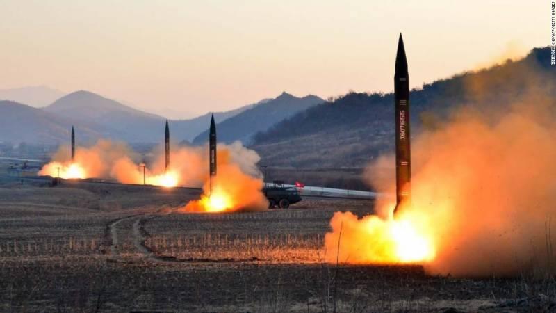 امریکا ایٹمی جنگ کی جانب قدم بڑھا رہا ہے، شمالی کوریا کا انتباہ