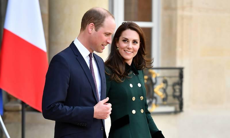 برطانوی شہزادہ ولیئم کی لیڈی ڈیا نا کے انتقال کے 20 سال بعد پیر س آمد