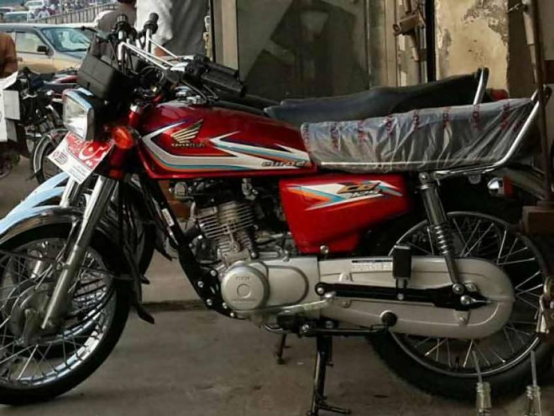 ہنڈا موٹر سائیکل کی فروخت میں 17.63 فیصد کا اضافہ