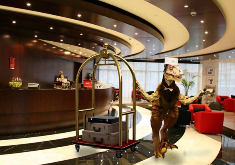 جاپان میں ہوٹل کے ملازمین ڈائنو سارز، نام گنیز بک میں شامل