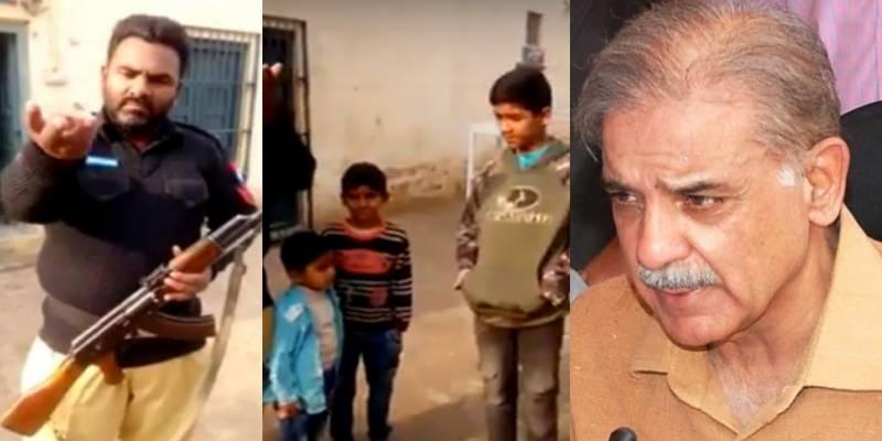 وزیر اعلیٰ پنجاب کیخلاف الیکشن لڑنے کا اعلان کرنیوالا کانسٹیبل فیملی سمیت گرفتار