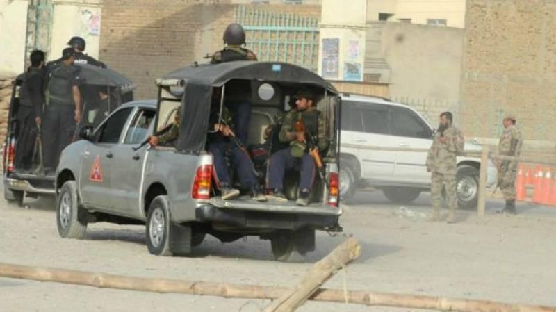 آپریشن ردالفساد:110 سے زائدگھروں کی تلاشی، 45مشتبہ افراد اسلحہ سمیت گرفتار