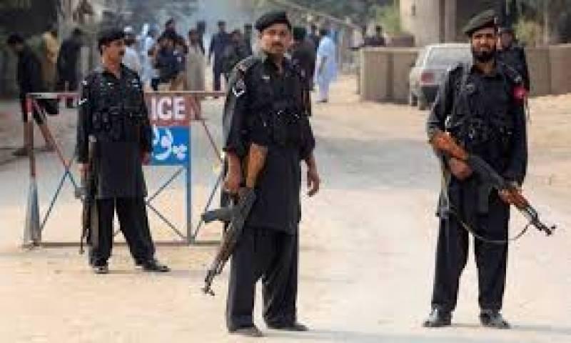 پشاور: پولیس کا سرچ آپریشن ، 45مشتبہ افراد گرفتار