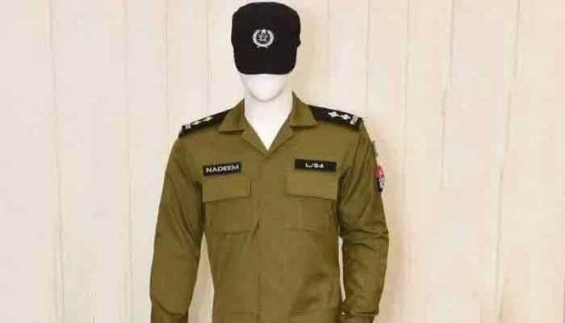 پنجاب پولیس کیلئے پیر سے نئی یونیفارم پہننے کا نوٹیفکیشن جاری