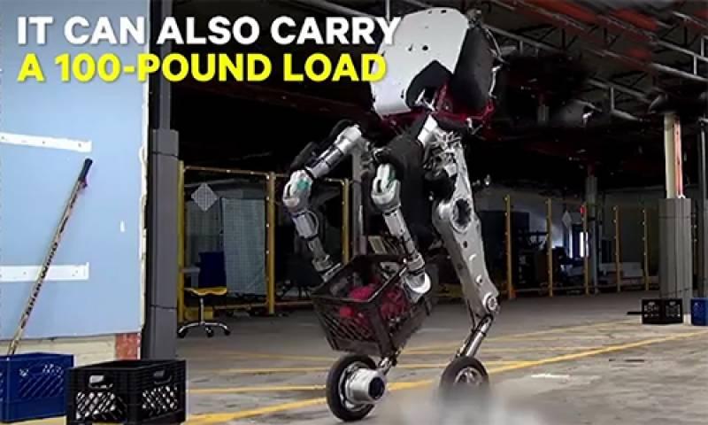 گھوڑے کی طرح دوڑنے والا روبوٹ آ گیا