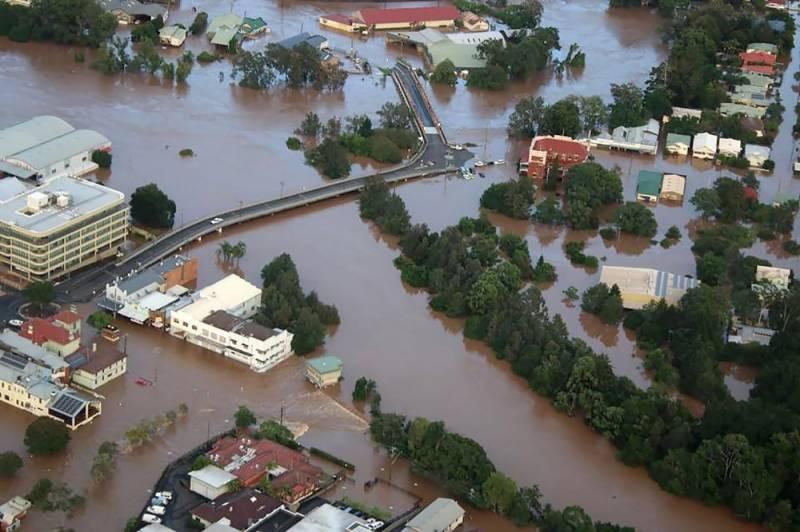 آسٹریلیا کی 2 ریاستیں شدید سیلاب کی زد میں