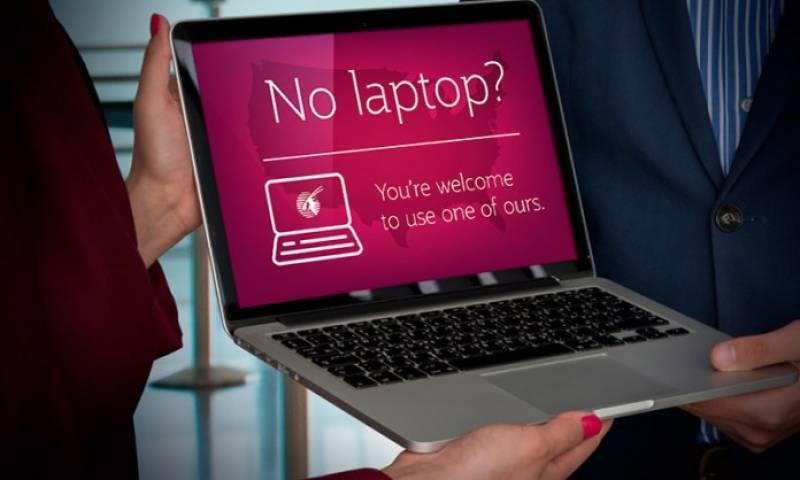 قطر ایئرویز کا مسافروں کو مفت لیپ ٹاپ فراہم کرنیکا اعلان