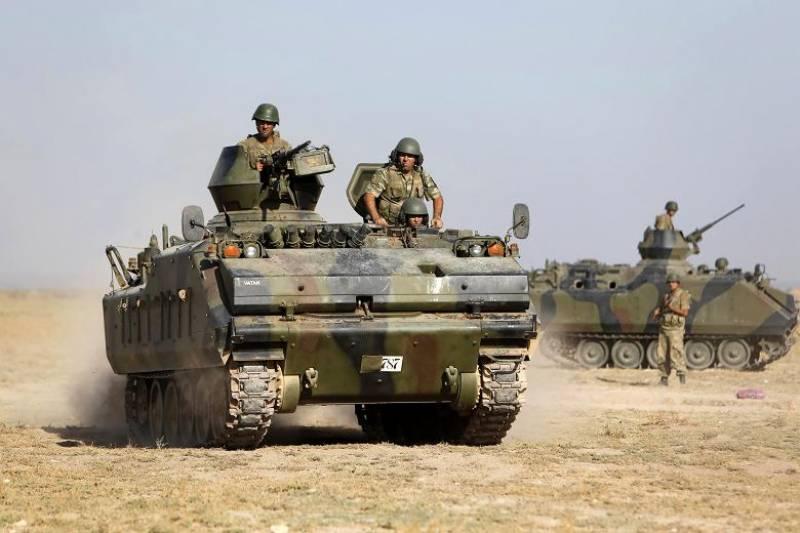 فوجی آپریشن ختم ہونے کے باوجودفورسزشام میں موجود رہیں گی،ترکی