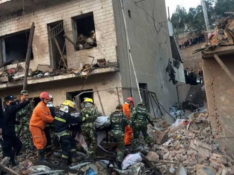 چین میں رہائشی عمارت میں دھماکے کے نتیجے میں 9 افراد ہلاک جب کہ متعدد زخمی ہوگئے