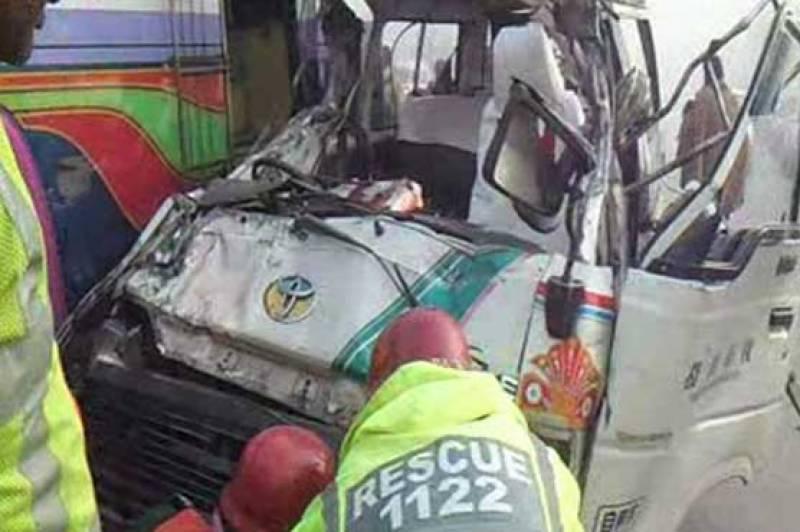 پتوکی بائی پاس پر ٹریفک حادثہ، ایک ہی خاندان کے 4 افراد جاں بحق