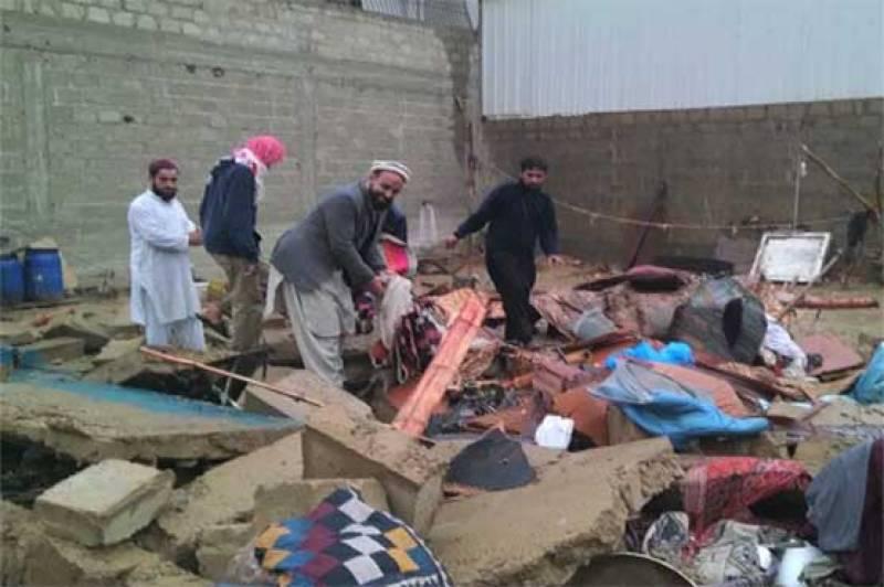 باجوڑایجنسی :بارش کے باعث مکان کی چھت گر گئی ،بچے سمیت 3 افراد جاں بحق