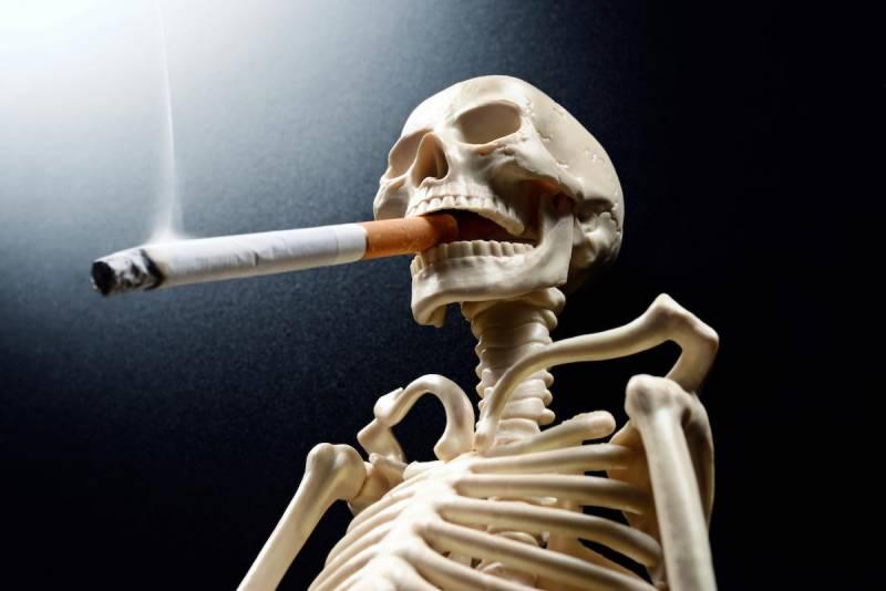 ہر دس اموات میں سے ایک موت کی وجہ سگریٹ نوشی