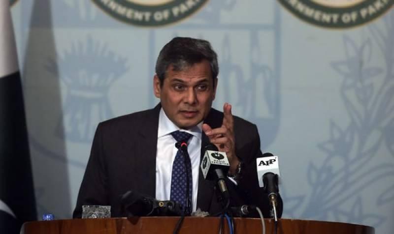 اسلامی فوجی اتحاد کسی ملک کے نہیں دہشت گردی کیخلاف ہے: ترجمان دفتر خارجہ