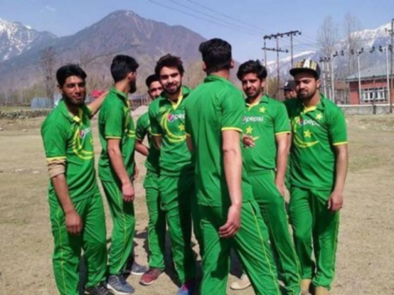 پاکستانی ٹیم کی وردی پہننے پر گرفتار کشمیری کرکٹرز پر غداری کا مقدمہ درج