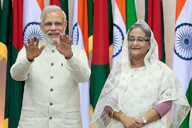 بھارت اور بنگلہ دیش کے درمیان سول نیو کلیئر انرجی سمیت 22 معاہدوں پر دستخط