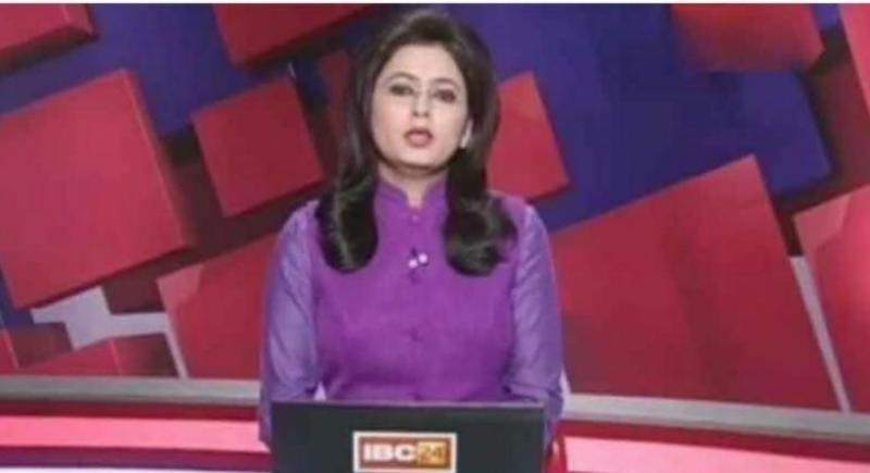 ہندوستانی نیوز کاسٹر نے اپنے شوہر کی ٹریفک حادثے میں موت کی خبر بریکنگ نیوز میں پڑھ دی