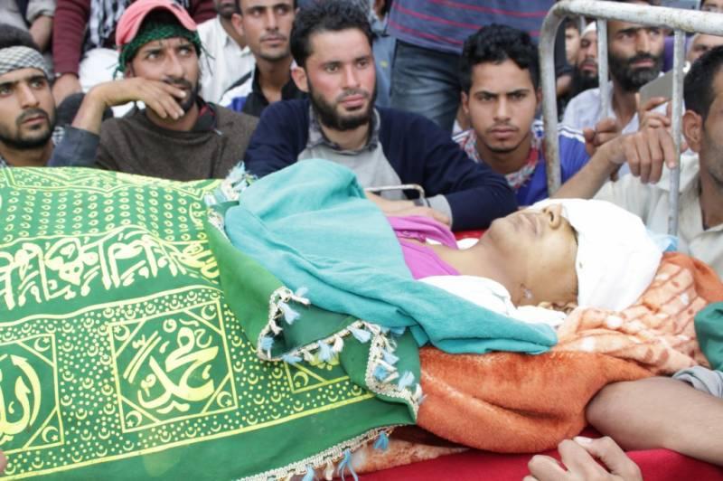 مقبوضہ کشمیر:بھارتی فوجیوں نے مزید چار کشمیری نوجوان شہید کردیے